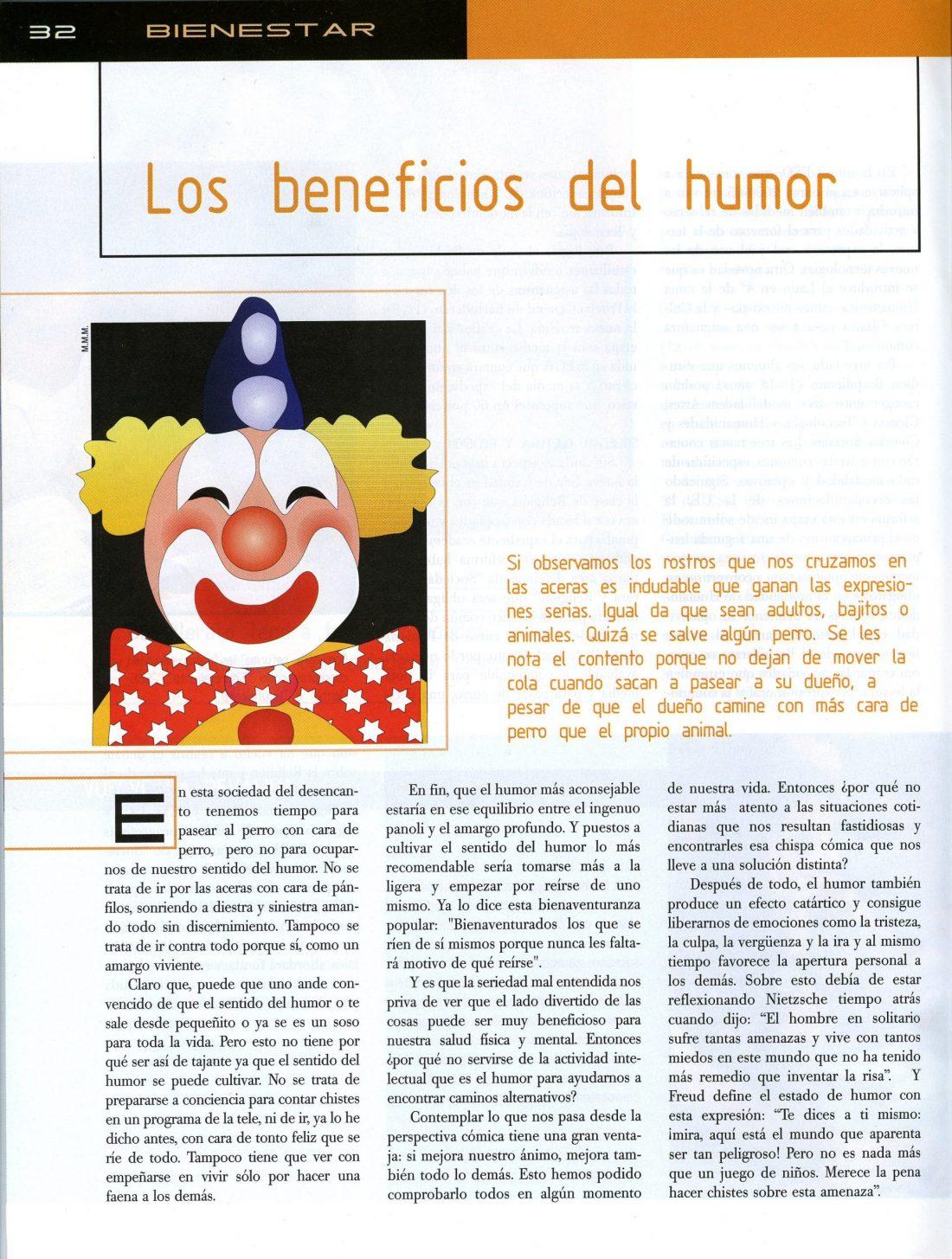 Los Beneficios del humor 1