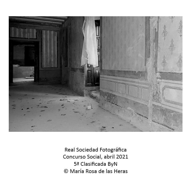 Real sociedad Fotografica 5 clasificada ByN