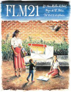 Cartel de la 80ª edición de la Feria del Libro de Madrid